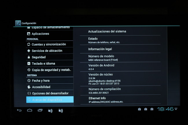 Hubiera sido mejor aprovechado el hardware si hubieran hecho el salto a una versión más actual de Android.