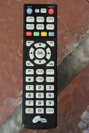 La disposición y teclas del control remoto resultan a simple vista bastante familiares.