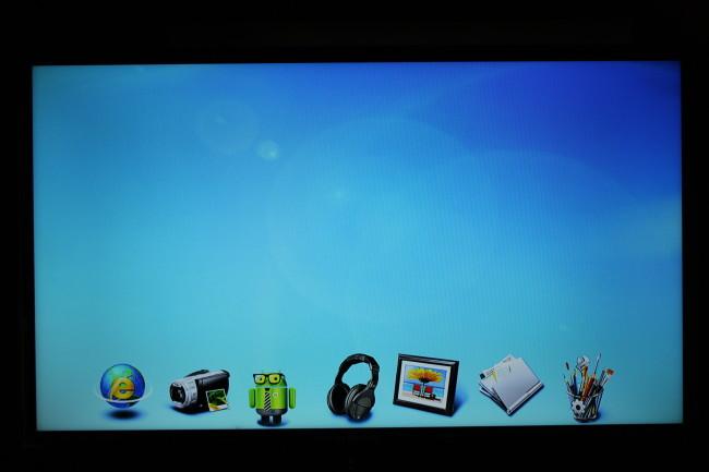 El aspecto de los íconos de la pantalla de inicio deja bastante que desear.