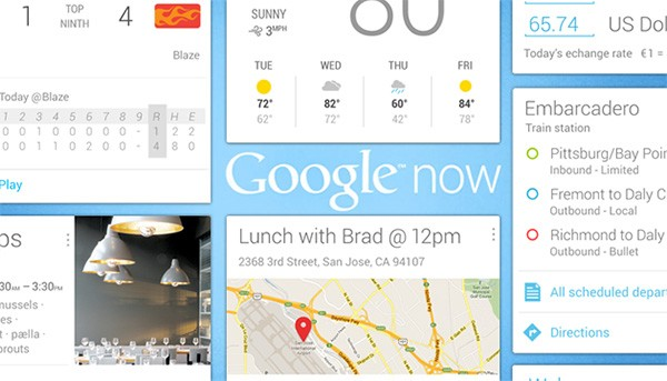 Google now llega a la PC
