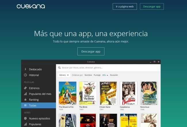 """""""Storm"""", la nueva app de Cuevana para ver películas y series."""