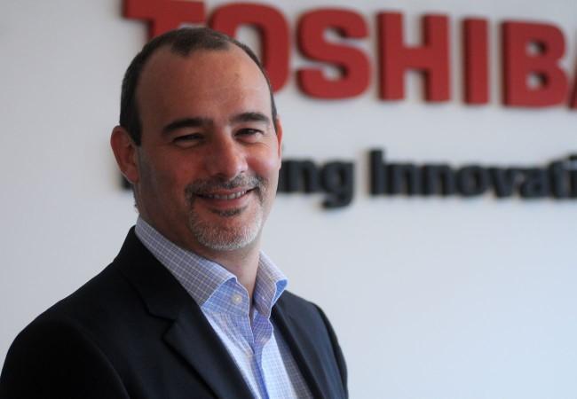 Sebastián Rial, gerente general de Toshiba Argentina.