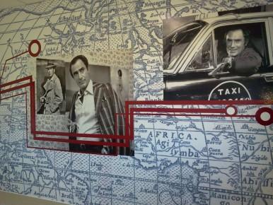 Las aulas llevan el nombre de clásicos del humor, como Juan Carlos Calabró, Carlitos Balá y Pepe Biondi.