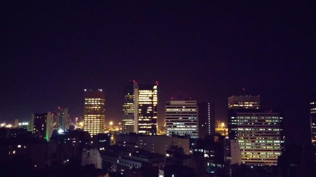 Las escenas en modo nocturno tienden a salir con un tono azulado.