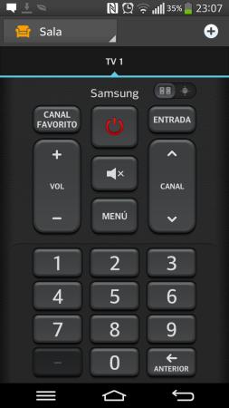 La práctica utilidad para controlar los dispositivos del hogar.