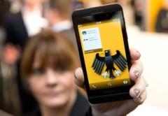 En Alemania solo los dispositivos de BlackBerry con Secusmart pasan las normas de seguridad gubernamentales.