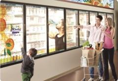 El display transparente de LG está pensado para ser usado en el mercado publicitario.