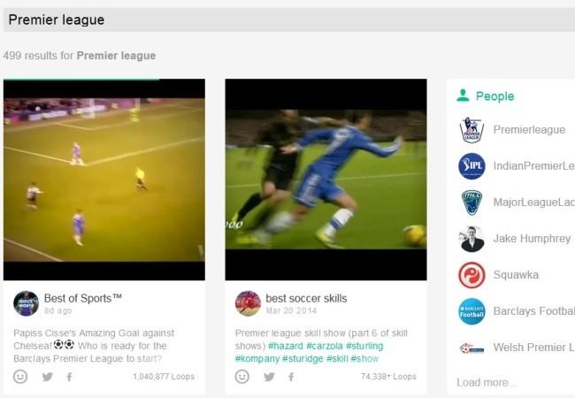 La Premier League prohibe subir los goles a Vine