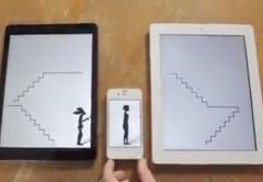 la animación utiliza distintos dispositivos Apple.