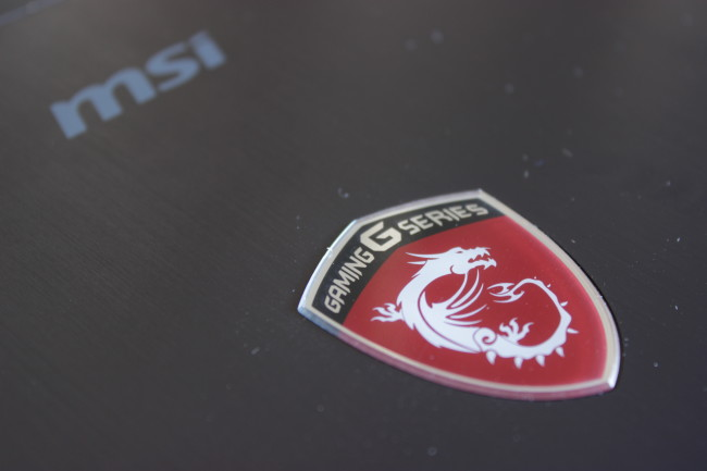 La insignia de G Gaming Series de MSI.