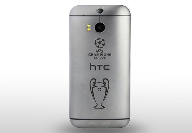 """La denominación del equipo es """"Champions League Collector's Edition HTC One (M8)""""."""