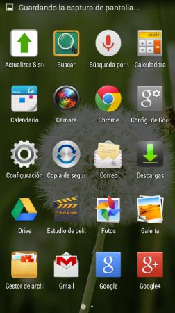 Catálogo de aplicaciones.