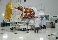 ARSAT 1 se prepara para el despegue.
