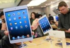 La venta de iPads podría estar sufriendo la saturación del mercado.