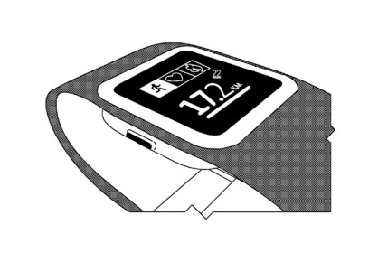 Imagen de patente de Microsoft para puslera para ejercicio.
