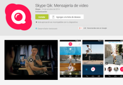 Qik ya está disponible para los principales sistema operativos móviles.
