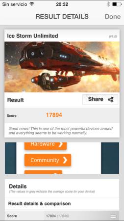 Resultados en 3DMark Extreme.