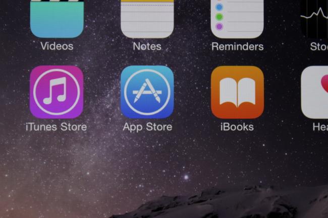Fotografía de la pantalla con brillo al 75%.