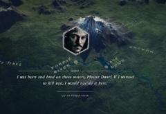 El mapa nos permite seguir a cada heroe en particular.