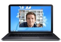 Skype podrá ser utilizado a través de los browsers.