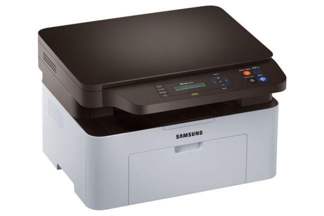 Impresora Samsung Xpress M2070w, compacta y elegante.