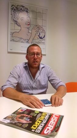 Patricio Silber, responsable de Belephant, nos cuenta que están haciendo más oficinas e instalando fibra óptica para mejorar la conexión a Internet.