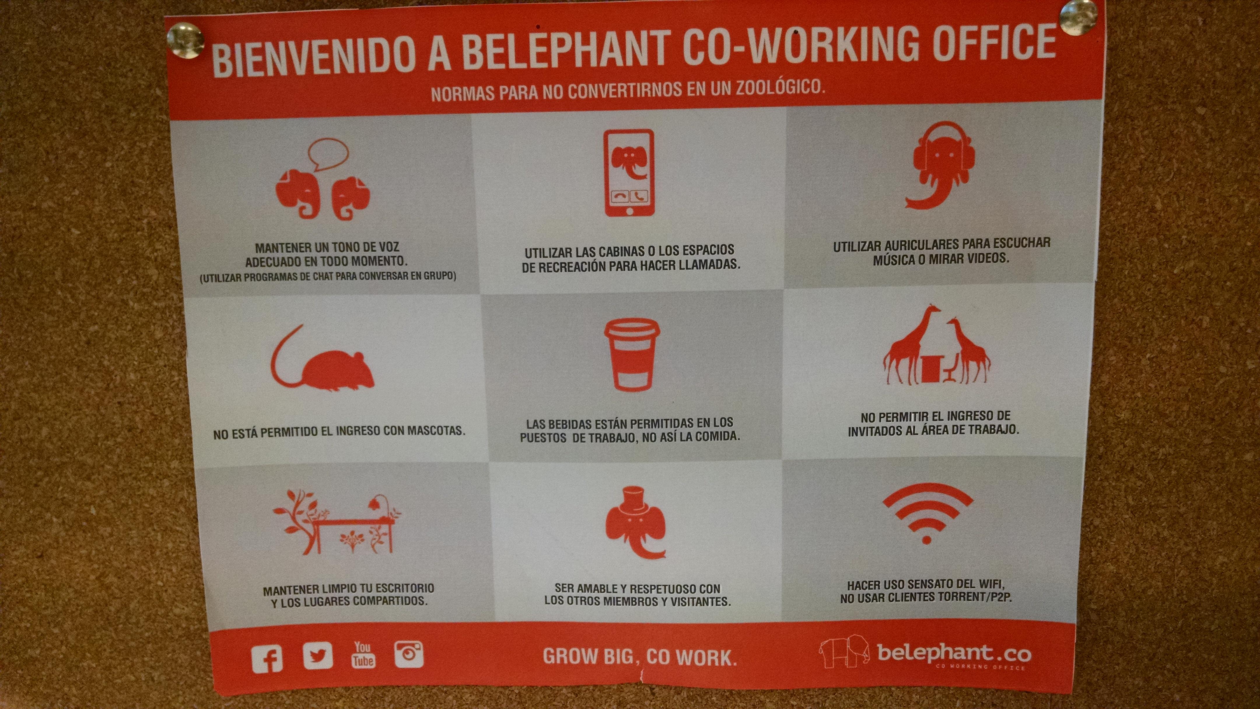 Belephant coworking - RedUSERS