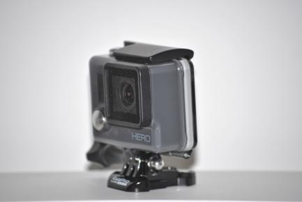 Vista lateral GoPro HERO
