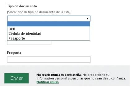 Pegamos el enlace en un mensaje de correo electrónico o en un sitio web. Los usuarios que accedan a este enlace podrán completar el formulario que hemos realizado.