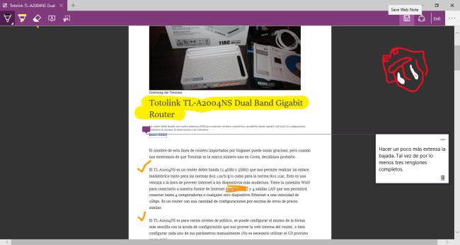 La capacidad de resaltar en vivo directamente sobre una página web, permite utilizar rápidamente indicadores sobre una web, que destaquen lo positivo o la necesidad, sin tener que recurrir a herramienta de terceros.