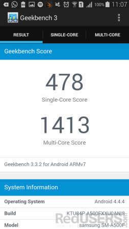 GeekBench - A5