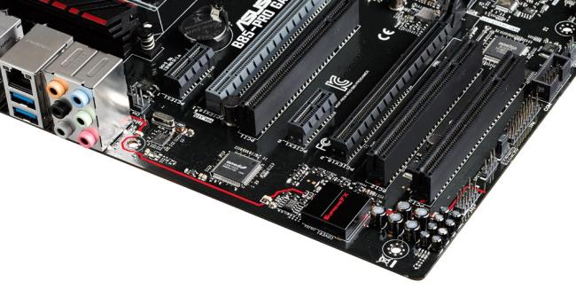 El chip que controla el sistema sonoro de buena calidad llamado SupremeFX.