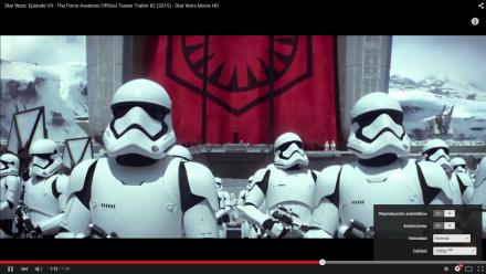PCBOX Kant: Youtube nos permite seleccionar la reproducción de videos en full HD.