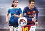 Alex Morgan, estrella de la elección estadounidense, acompañara a Lionel Messi en la portada del FIFA 16