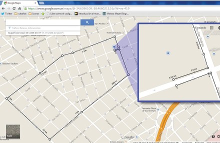 El nuevo Maps ya incluye una opción de medición de distancias como herramienta predeterminada de la plataforma de Google. Podremos conocer rápidamente la distancia en Km o millas.
