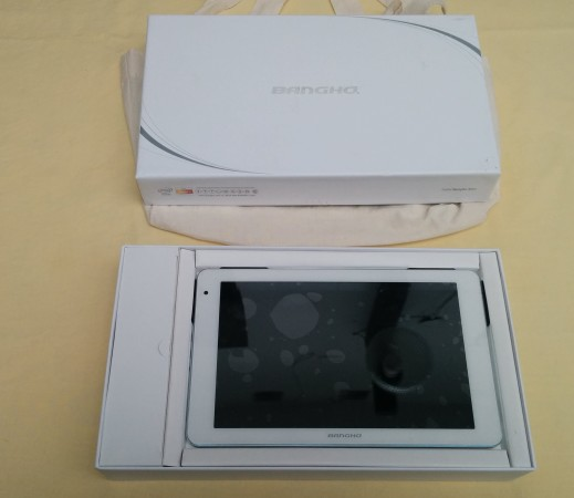 Unboxing de la tablet AERO J0810.