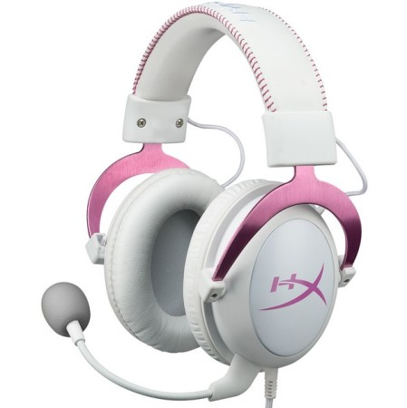 hyper x cloud 2(dos) pink