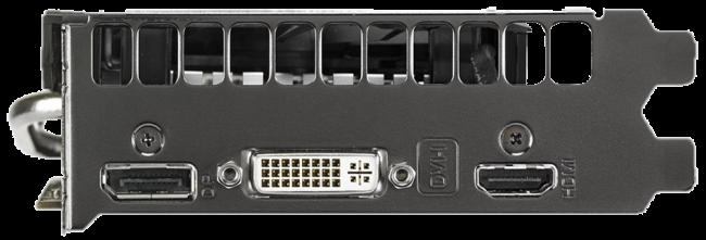 Las salidas de video integradas permiten utilizar casi cualquier pantalla actual.