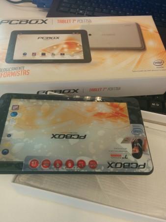 Tablet PCB-750i Pantalla protegida.