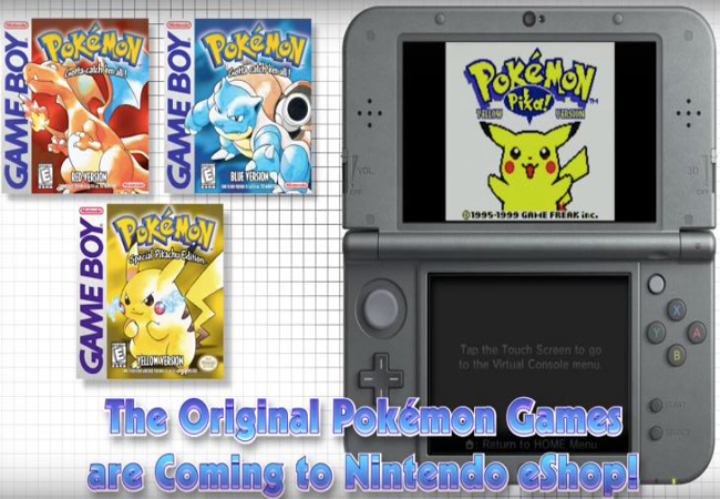 Los Juegos Originales De Pokemon Vuelven Para La Portatil 3ds Redusers