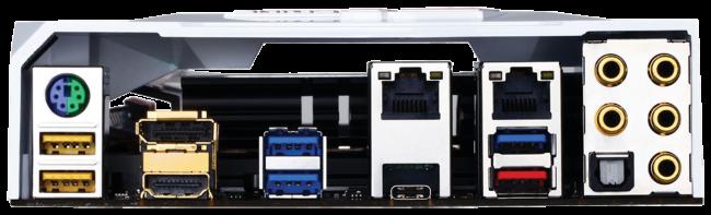 La novedad más destacada en el panel trasero es el pequeño puerto USB 3.1 de tipo C.