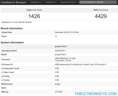 pixelc-benchmark