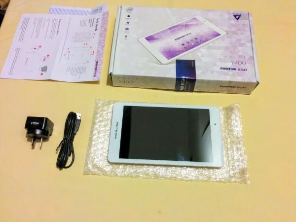 Unboxing de la tablet Positivo BGH Y400