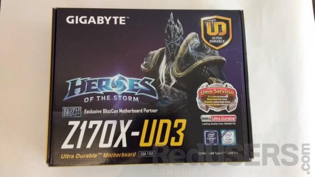 Caja Z170X UD3