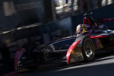 2015 Formula E  Buenos Aires e-Prix, Argentina Saturday 6 February 2016. Jean-Eric Vergne (FRA), DS Virgin Racing DSV-01   Photo: Sam Bloxham/FIA Formula E/LAT ref: Digital Image _SBL0883