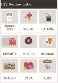 Como no tenemos acciones creadas, hacemos clic en [Navegar Featured]; de esta forma podremos ver las acciones creadas por otros usuarios. Veremos las categorías disponibles.