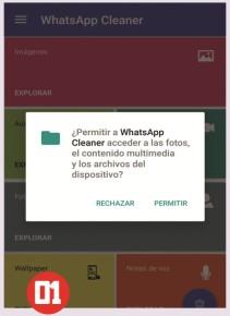 Desde Google Play podemos instalar esta herramienta. Al iniciar nos consultará sobre permisos requeridos para su correcto funcionamiento.