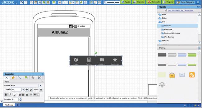 Entre el cúmulo de aplicaciones web que se complementan con Google Drive podemos encontrar joyas como Cacoo, Pixlr Editor, y Moqups.