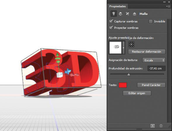 La extrusión es la técnica principal de modelado 3D y suele ser la base por donde comenzar a aprender. La extrusión de texto es uno de sus usos más populares.