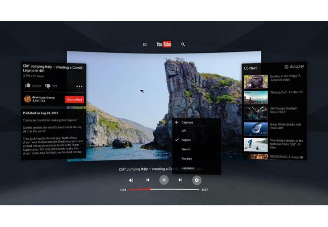 Google lanza la nueva app YouTube VR en Play Store
